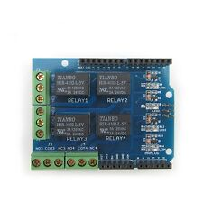4-Kanal Relais Modul Shield for Arduino UNO R3 Four Channel Relay Module 5V
