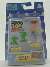 DISNEY TOY STORY BUDDY PACK~ACTION SHERIFF WOODY +ARMY MEN~2008 P6054 Mattel~NEW