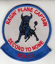 VFA-37 SECOND TO NONE PLANE CAPTAIN PATCH