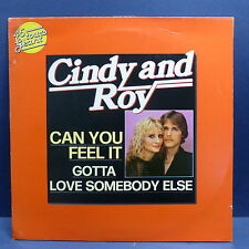 "MAXI 12"" CINDY AND ROY Can you feel it  28041"