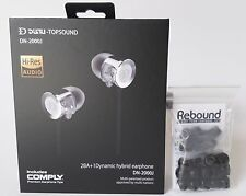DUNU DN-2000J with Jumbo Rebound Memory Foam Ear Tips Bundle