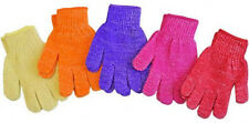 4 Pairs  Exfoliating Spa Bath Gloves Shower Soap  Clean Hygeine Ships from NY