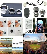 Camera Kit 3 in1 Fish Eye + Wide Angle + Macro Lens for iPhone 6  i Pad Air 1 2