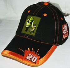 Baseball Cap Nascar #20 TONY STEWART * HOME DEPOT / SHREK 2 *  -schwarz/orange