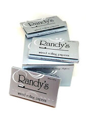 Randy's Wired Rolling Papers 3 Packs 24 Leaves ea 1 1/4 USA Wholesale Bundle NEW