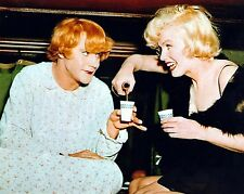 MARILYN MONROE AND JACK LEMON  SPECIAL 8X10 GLOSSY PHOTO