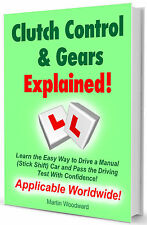 Pass the Driving Test - Clutch Control & Gears Explained - Learn to Drive easy