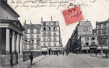 Carte Postale PARIS La Rue Legendre