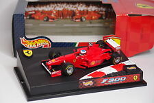 HOT WHEELS F1 FERRARI F300 SCHUMACHER 1/43