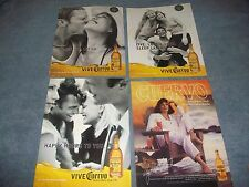13 Ad Lot For Jose Cuervo Tequila 1980's thru 2000's