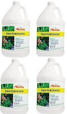 4 ea Alaska 100099249 Gallon Fish Emulsion Liquid Organic Fertilizer