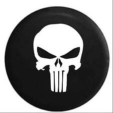 "Skull Spare Wheel Tire Tyre Case Cover Protector 32"" 33"" Fit For Jeep Wrangler"