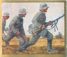 N°25 World War German Soldiers machine gun  Reichswehr Germany WWI 30s CHROMO