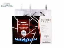 Knitter's Pride ::Nova Platina Starter Interchangeable Needle Set:: Brand New