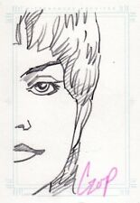 Women of Star Trek Voyager John Czop / Kes Sketch Card b
