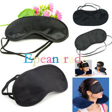 Gift Travel Sleeping Eye Mask Black Shade Blindfold Eye Patch Night Economic