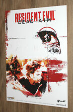 Resident Evil Dead Aim rare Promo Poster 59x42cm PS2 Playstation 2