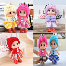 2Pcs Toys Soft Interactive Baby Dolls Mini Doll Girl Mobile Phone Accessory de