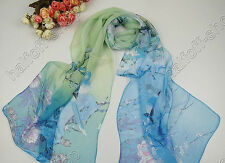 New Pretty Women's Fashion Long Soft Wrap Lady Shawl Chiffon Scarf