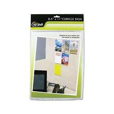 Nu-Dell Clear Plastic Sign Holder - 37085Z