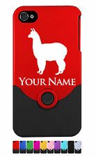 Personalized Engraved iPhone 4 4G 4S Case/Cover - ALPACA - LLAMA