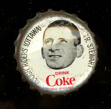 1965 COKE CAPS COCA-COLA CAP + CORK CFL FOOTBALL RON STEWART OTTAWA ROUGH RIDERS