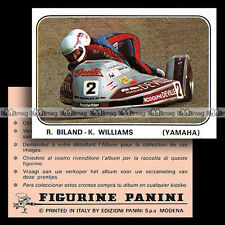 #pnms79.150 ★ ROLF BILAND & KEN WILLIAMS Side-car YAMAHA ★ Panini Moto Sport 79