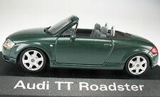 MINICHAMPS - Audi TT Roadster - steppengras dunkelgrün in OVP - 1:43 Modellauto