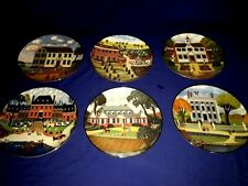 Colonial Heritage Series LIMITED Museum Editions (Set of 6) Collectible Plates