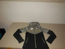 Nike Oregon Ducks Fanatic Running Jacket Coat UO Team Hooded Womens XSmall XS