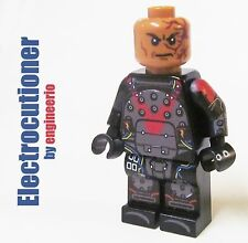LEGO Custom -- Electrocutioner - DC Batman Arkham Origins Minifigure knight dark