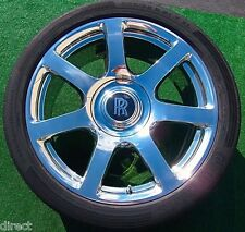 Genuine OEM Factory Rolls-Royce WRAITH Forged 21 inch WHEELS TIRES Ghost V-Spec