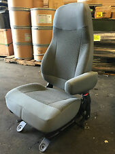 2015 2016 FORD SUPER DUTY SD F650 f750 PASSENGER XLT GRAY CLOTH BUCKET SEAT