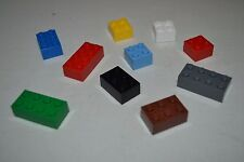 Set of 10 refrigerator magnets made from authentic LEGO bricks & strong magnets