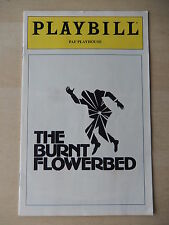 December 1980 - PAF Playhouse Theatre Playbill - The Burnt Flowerbed - Argo