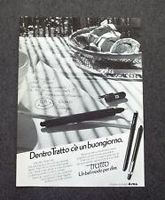 G463 - Advertising Pubblicità - 1980 - TRATTO PEN , LINEA DI PRODOTTI FILA