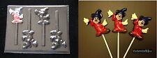 SORCEROR MICKEY MOUSE Chocolate Candy Soap Mold