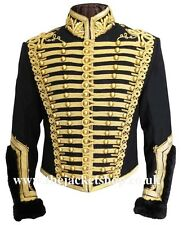 Officers Napoleonic Hussars Uniform Military Tunic Pelisse - Jacket
