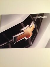 2010 Chevy Cars & Trucks 30-page Original Sales Brochure