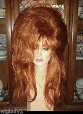 SIN CITY WIGS LONG VOLUMINOUS TEASED BIG HAIR DRAG QUEEN THICK LOCKS POOF HOT