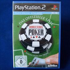 Ps2-PLAYSTATION ► World Series of Poker ◄ NUOVO & OVP
