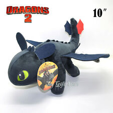 "How To Train Your Dragon TOOTHLESS Night Fury Plush toy 10"" #2"