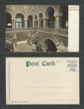190x ALBANY NY WESTERN STAIR CASE CAPITAL BUILDING UDB UNDIVIDED BACK POSTCARD