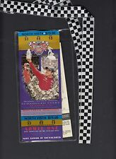 Indianapolis 500 86th Race May 26 2002 2 tickets in Holder & Lanyard 1 unused