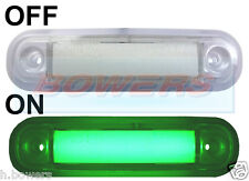 12V/24V GREEN LED MARKER/POSITION LAMP/LIGHT SCANIA VOLVO MAN MERCEDES ERF DAF
