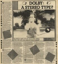 31/10/81PGN11 ARTICLE & PICTURE : THOMAS DOLBY