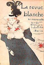 Carte postale LA REVUE BLANCHE