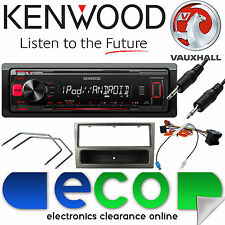 Vauxhall Corsa C KENWOOD auto STEREO RADIO reproductor de Mechless MP3 aux Kit Gris