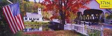 Jigsaw puzzle Landscape Covered Bridge 750 piece NIB