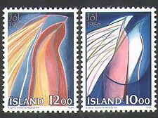 Iceland 1986 Christmas/Greetings/Art/Design/Peace/Night 2v (n37577)